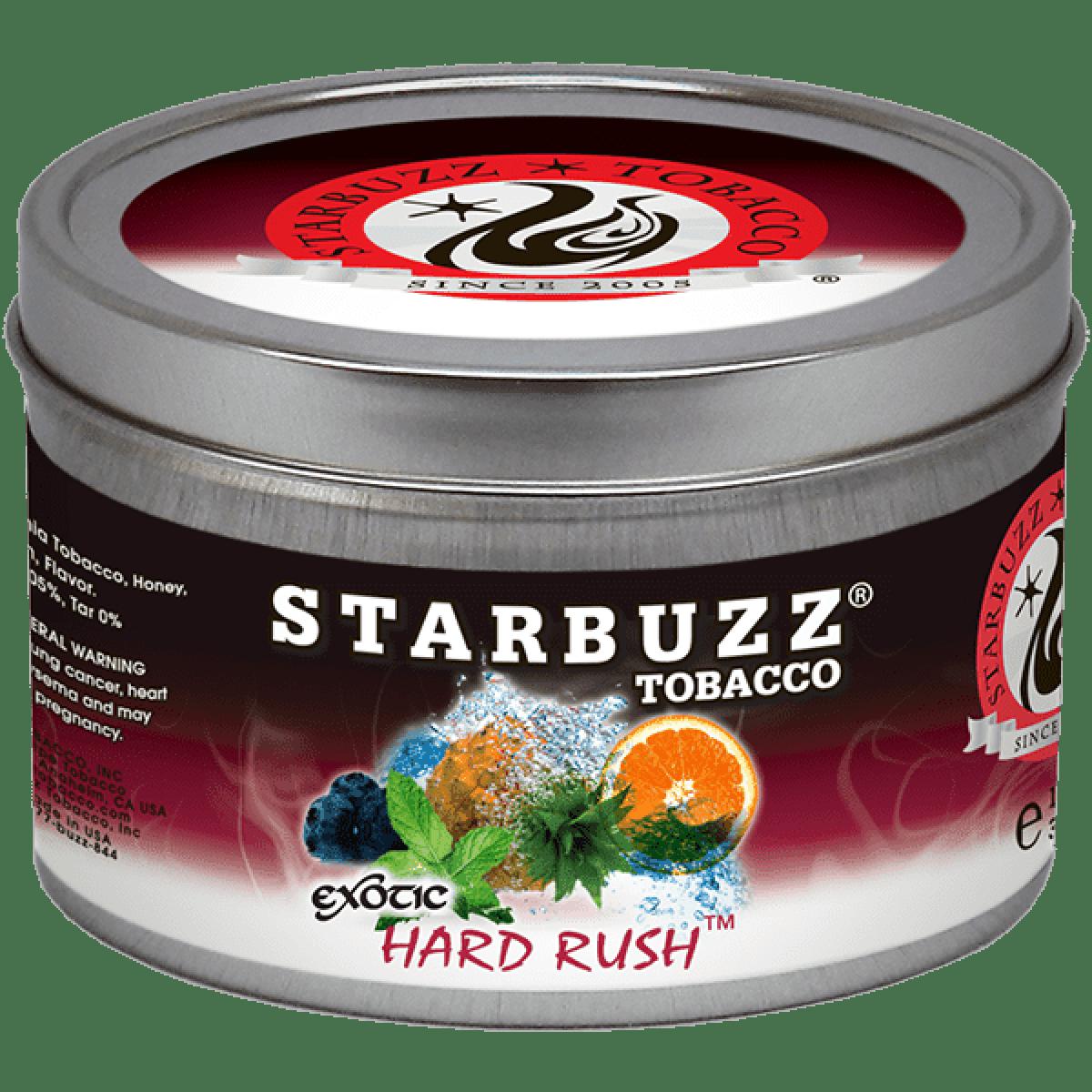 Табак Starbuzz Hard Rush (Старбаз Хард Раш) 100 грамм