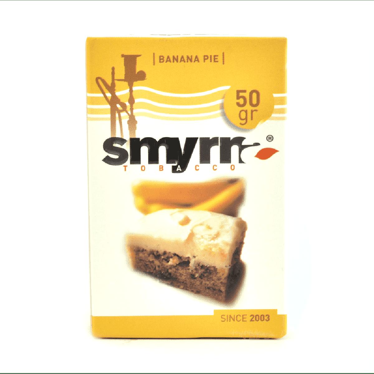Табак Smyrna Banana Pie (Смирна Банановый пирог) 50 грамм