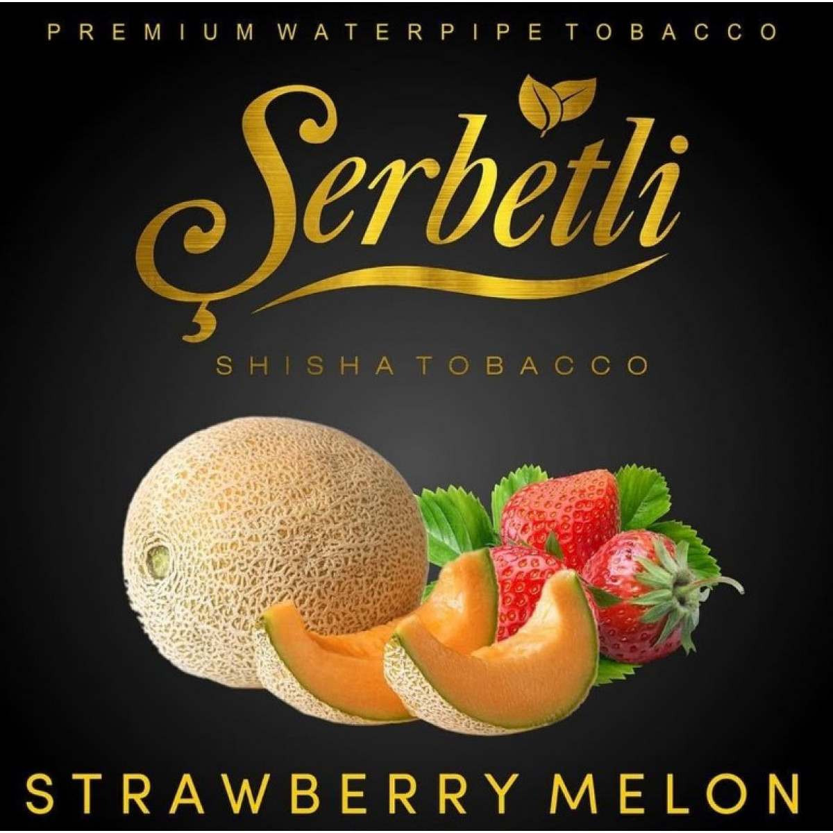 Табак Serbetli Strawberry Melon (Щербетли Клубника Дыня) 50 грамм