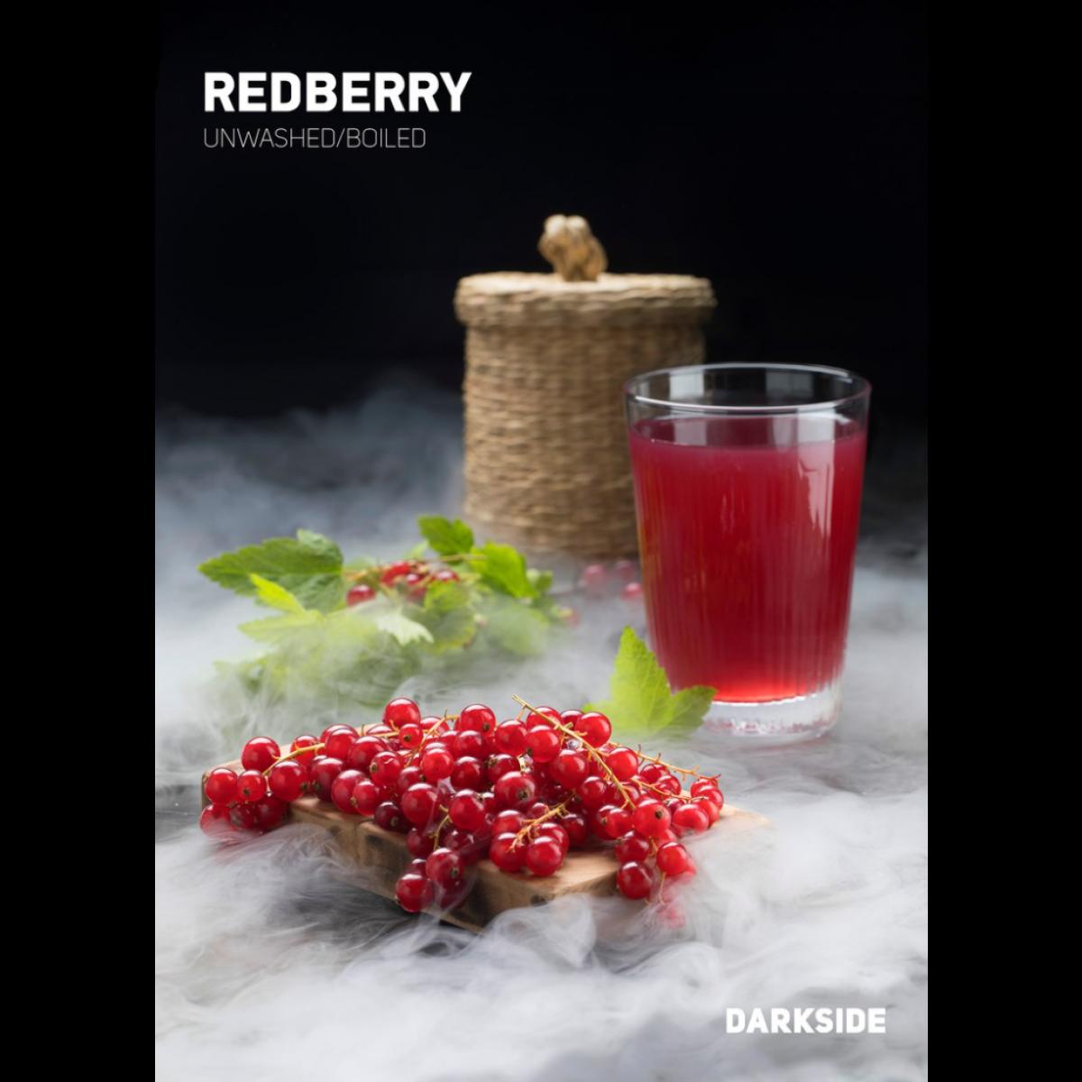 Табак Dark Side RedBerry (Дарксайд Красная смородина) 100 грамм