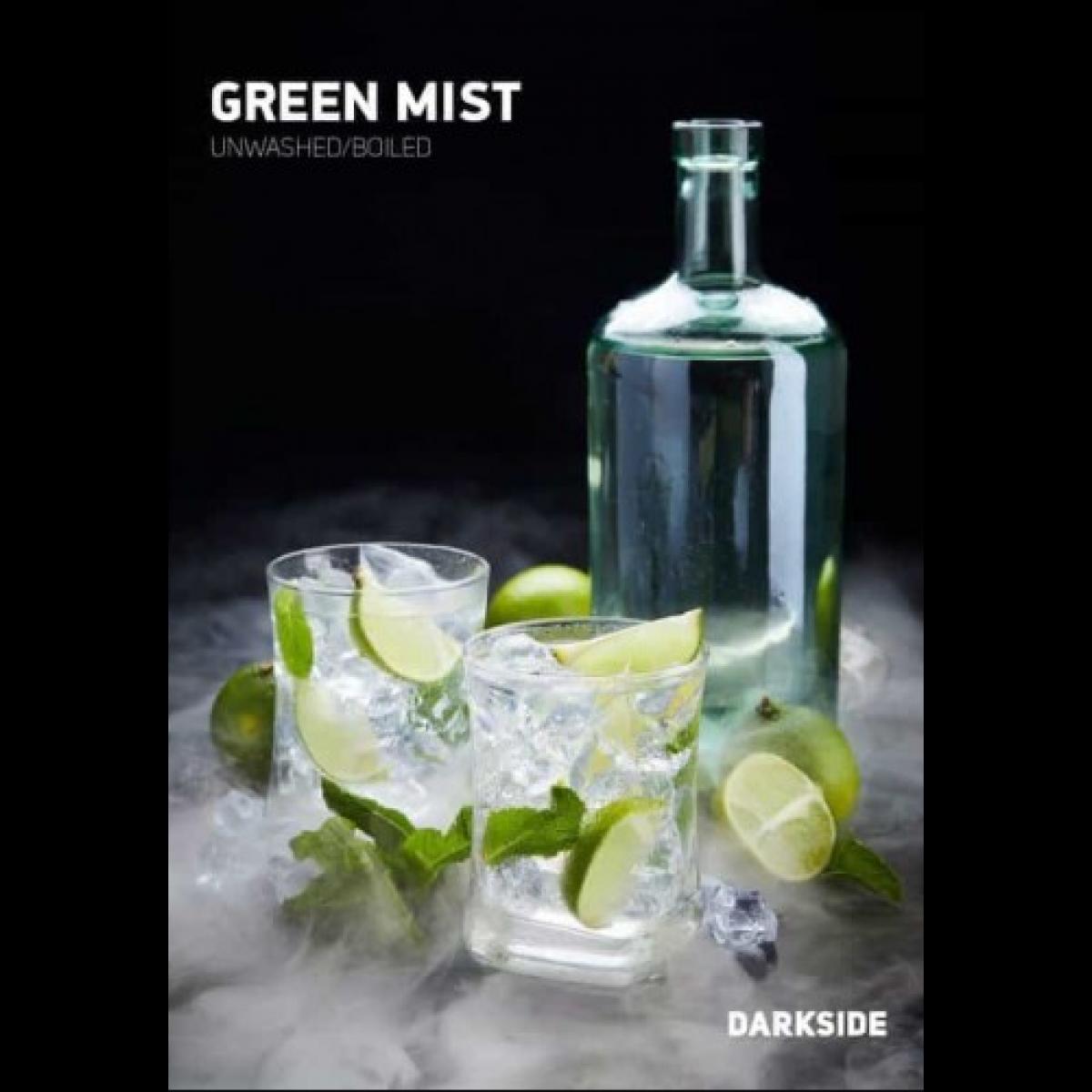 Табак Dark Side Green Mist (Дарксайд Цитрусово-алкогольный) 100 грамм