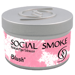 Табак Social Smoke Blush (Малина и фрукты) 100 грамм