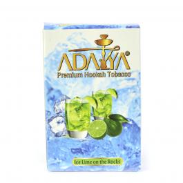 Табак Adalya Ice Lime On The Rocks (Адалия Мохито) 50 грамм