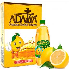 Табак Adalya Crazy Lemon (Адалия Крейзи Лимон) 50 грамм