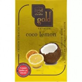 Табак Al Waha Gold Coco Lemon (Аль Ваха Кокос с Лимоном) 50 г.