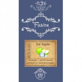 Табак Fusion Ice Apple (Фьюжн Айс Яблоко) Medium 100 грамм