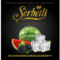 Табак Serbetli Ice Watermelon Blackberry (Щербетли Айс Арбуз Ежевика) 50 грамм