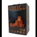 Уголь для кальяна ореховый Gresco в коробке (Греско) 1кг