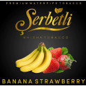 Табак Serbetli Banana Strawberry (Щербетли Банан Клубника) 50 грамм