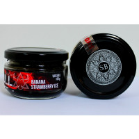 Табак Smoky Bull Soft Line Ice Strawberry Banana (Смоки булл софт  Айс клубника банан) 100 грамм