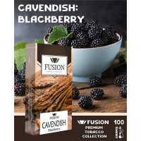 Табак Fusion Cavendish Blackberry (Ежевика) 100 грамм