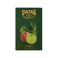 Табак Sultan 2 apples (Табак Султан 2 яблока) 50 грамм