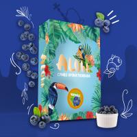 Безникотиновая Смесь Aloha (Алоха Черника) 100грамм