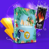 Безникотиновая Смесь Aloha (Алоха Берн) 100 грамм