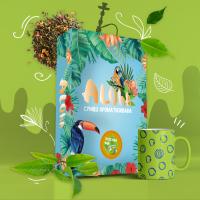 Безникотиновая Смесь Aloha (Алоха Зеленый Чай) 100 грамм