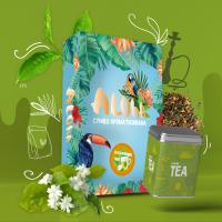 Безникотиновая Смесь Aloha (Алоха Жасминовый Чай) 100 грамм