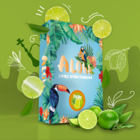 Безникотиновая Смесь Aloha (Алоха Лайм) 100 грамм