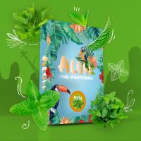Безникотиновая Смесь Aloha (Алоха Мята) 100 грамм
