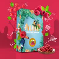 Безникотиновая Смесь Aloha (Алоха Малина) 100 грамм