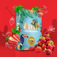 Безникотиновая Смесь Aloha (Алоха Клубника) 100 грамм