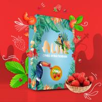 Безникотиновая Смесь Aloha (Алоха Земляника) 100 грамм