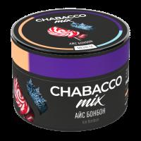 Бестабачная смесь Chabacco MIX Medium Ice Bonbon (Чабакко Айс Бонбон) 50 грамм
