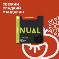 Табак для кальяна Nual Ice Tangerine (Нуал Айс Мандарин) 100 грамм