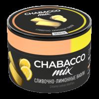 Бестабачная смесь Chabacco MIX Medium Creamy Lemon Waffles (Чабако Сливочно-Лимонные Вафли) 50 грамм