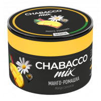 Бестабачная смесь Chabacco MIX Medium Mango Camomile (Чабакко Манго-Ромашка) 50 грамм