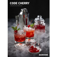 Табак Dark Side Code Cherry (Дарк сайд Код вишня) medium 100 грамм
