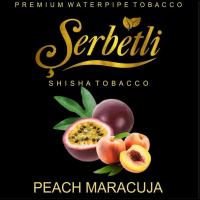 Табак Serbetli Peach Maracuja (Щербетли Персик Маракуйя) 50 грамм