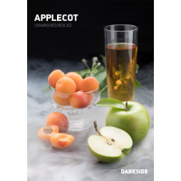 Табак Dark Side Applecot (Дарксайд Зеленое яблоко) medium 250 грамм