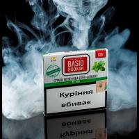 Табак Basio Hookah Mint (Базио Хука Мята) 100 грамм