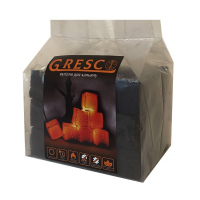 Уголь для кальяна ореховый Gresco без коробки (Греско) 0,5кг