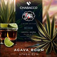 Бестабачная смесь Chabacco Medium Agava Boom (Чабака Агава Бум) 50 грамм