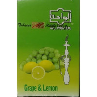 Табак Al Waha Lemon Grape (Аль Ваха Лимон с Виноградом) 50 г.