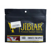 Табак Jibiar Emirates Two Apples (Джибиар Двойное Яблоко) 100 грамм
