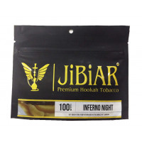 Табак Jibiar Inferno Night (Джибиар Адская Ночь) 100 грамм