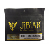 Табак Jibiar Sweet Mango Mix (Джибиар Cладкий Манго) 100 грамм