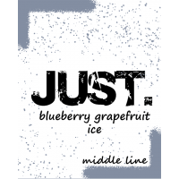 Табак Just Blueberry Grapefruit Ice (Джаст Айс Голубика Грейпфрут) 50 грамм