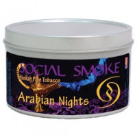 Табак Social Smoke Арабские ночи (Arabian Nights) 100 г.