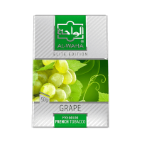 Табак Al Waha Elite Edition Grape Mint (Аль Ваха Виноград мята) 50 грамм